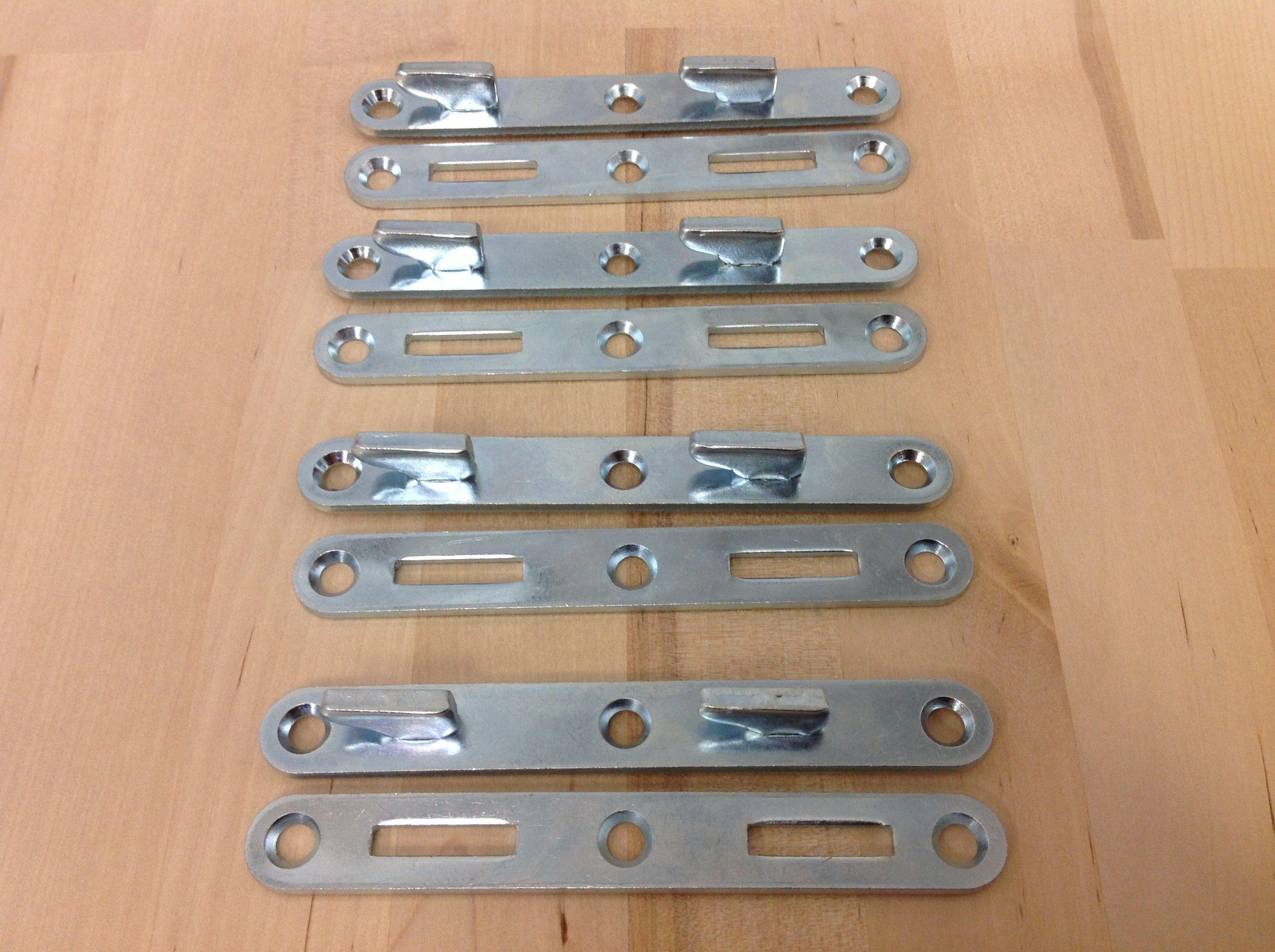 Bed Rail Fasteners 58 W X 4 1516 Long, Heavy Duty