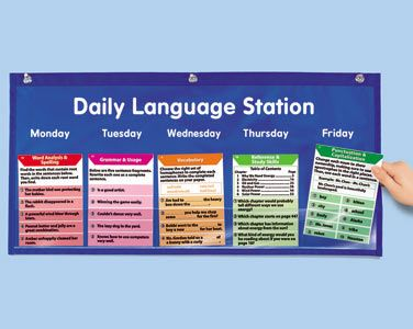 Daily Language Station - Gr. 4-6 at Lakeshore Learning