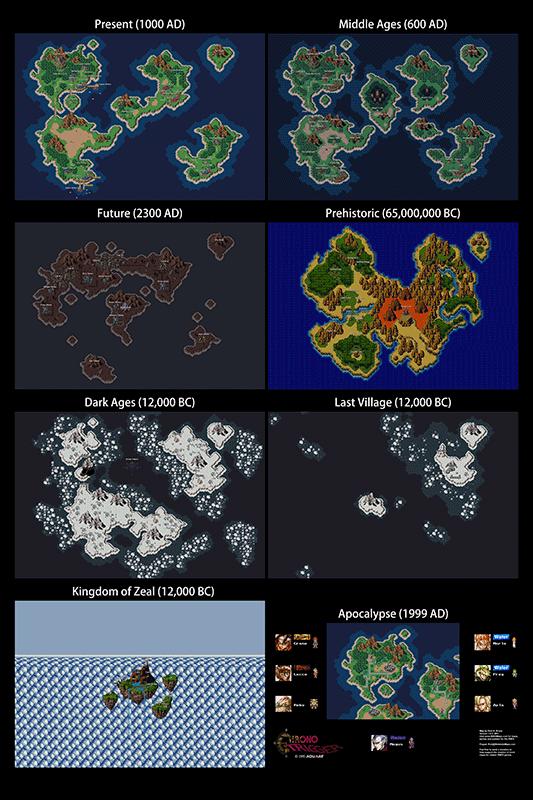 Chrono Trigger NES Map for Steve
