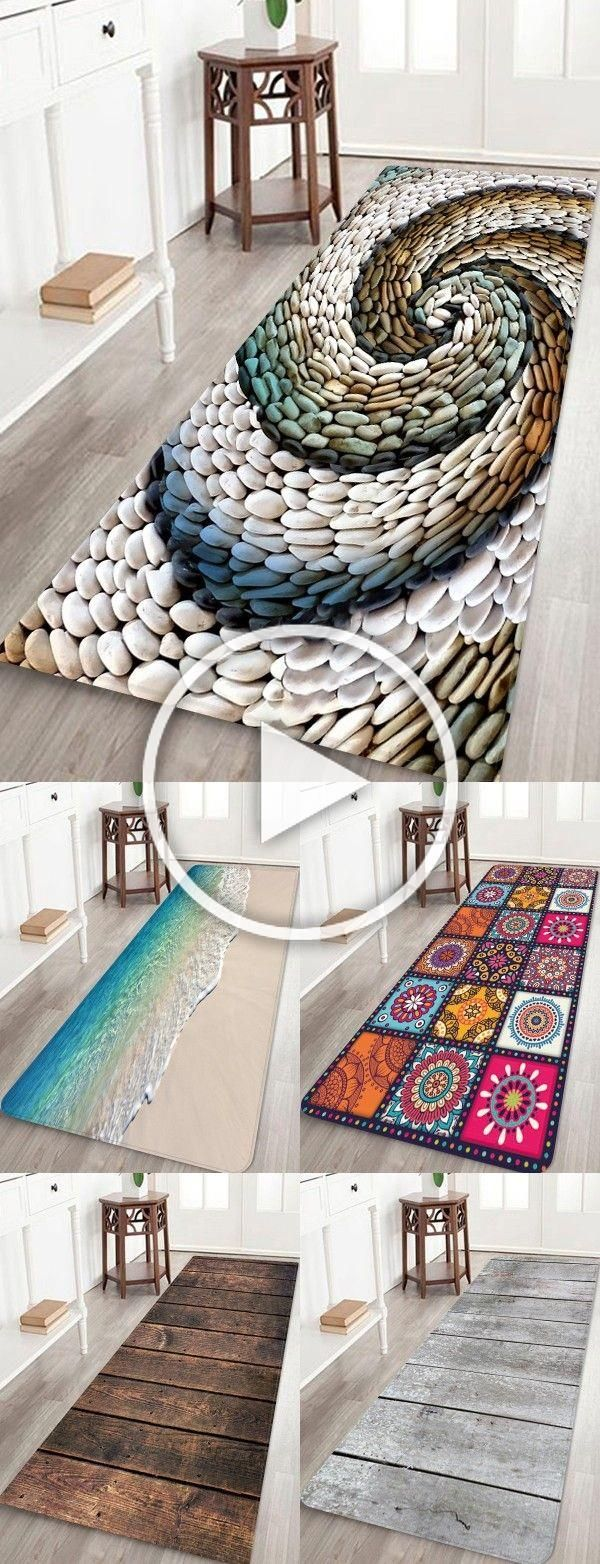 Rosegal 3D print Floor Rug Antiskid Area Rug Home bath rug ideas #Rosegal #rugs