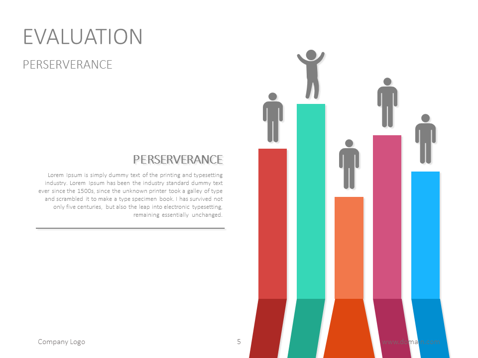 Slide For Presenting Evaluation Results Powerpoint