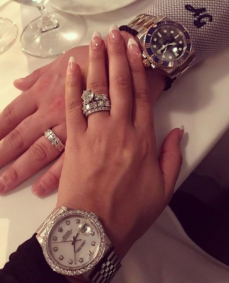 Relationship Goals His Hers Big Wedding Rings Engagement