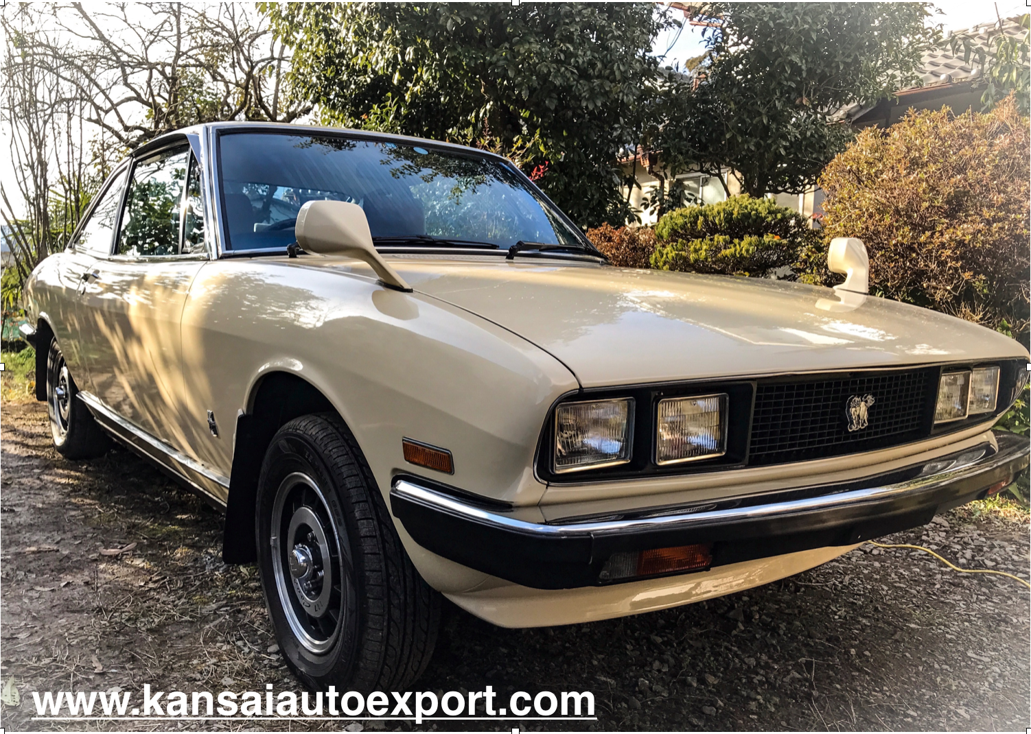 For Sale- Isuzu 117 Coupe. 1978, 49,000 Miles/78,000KM. Large service and maintenance history book present. Ask us for more details or alternatively , please visit our website.