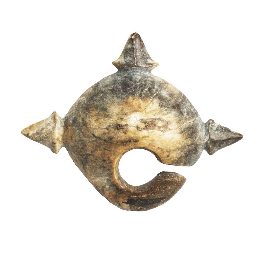 Zoomorphic Ear Ornament. Sa Huynh Culture. 700BCE-100CE.