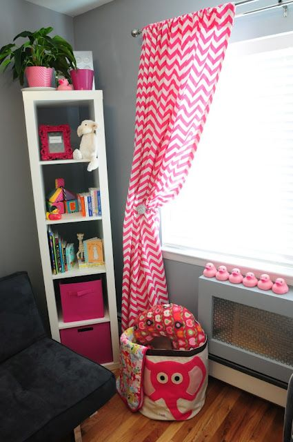 Love Chevron Curtains And I The Pink Gray