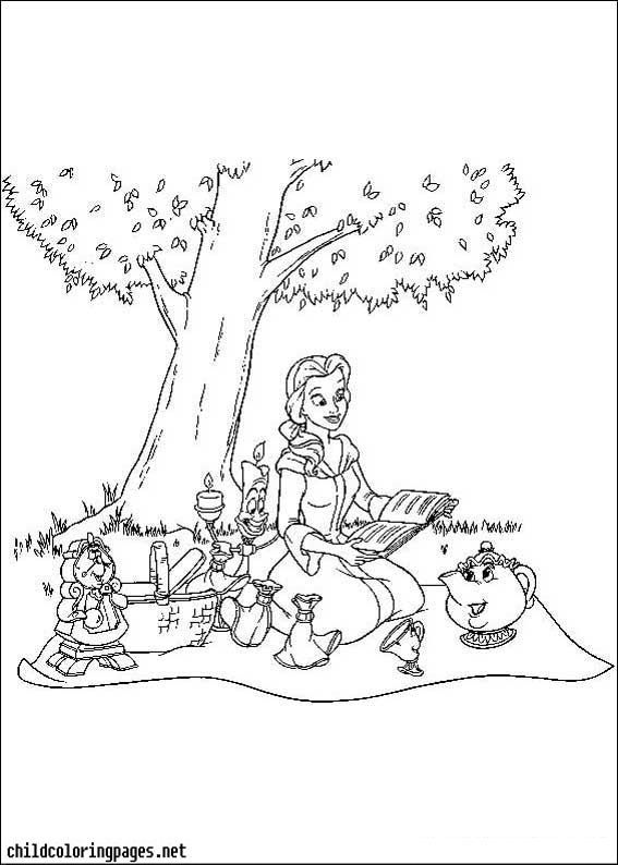 Alice In Wonderland Coloring Pages 11