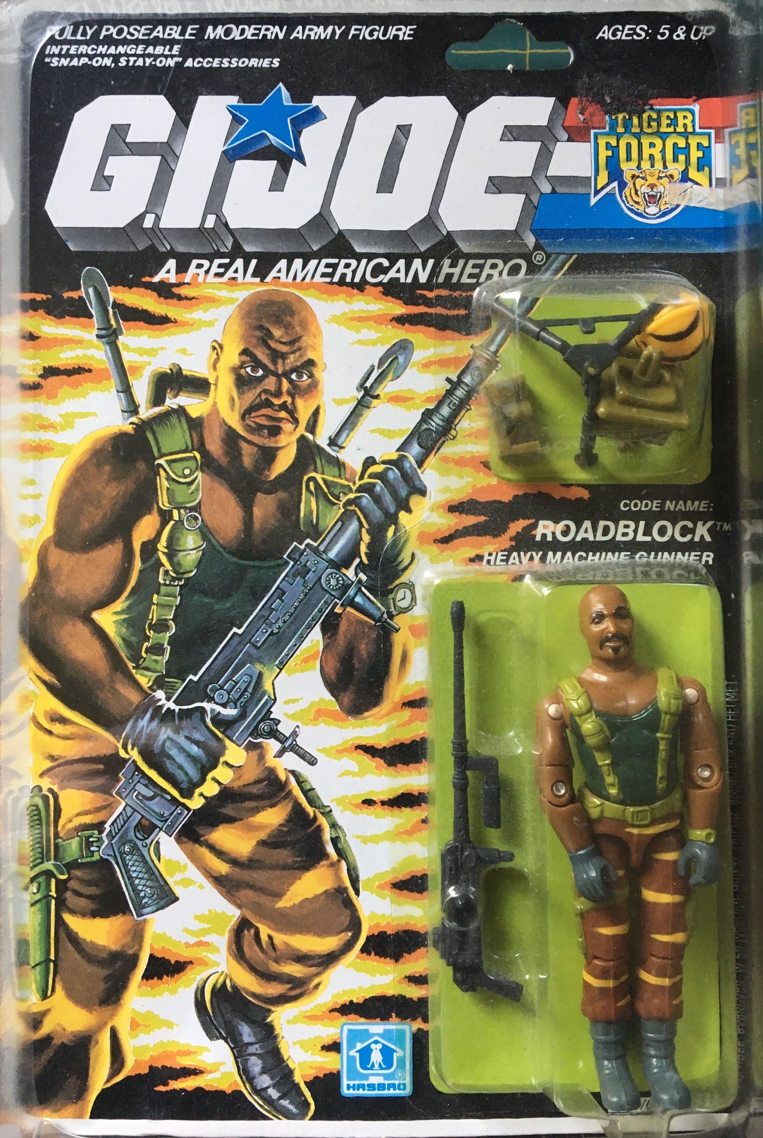GI Joe Weapon Tiger Force Duke Backpack 1988 Original Figure Accessory