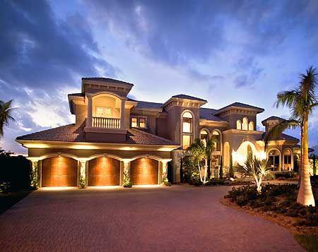 Unique spanish luxury home designs