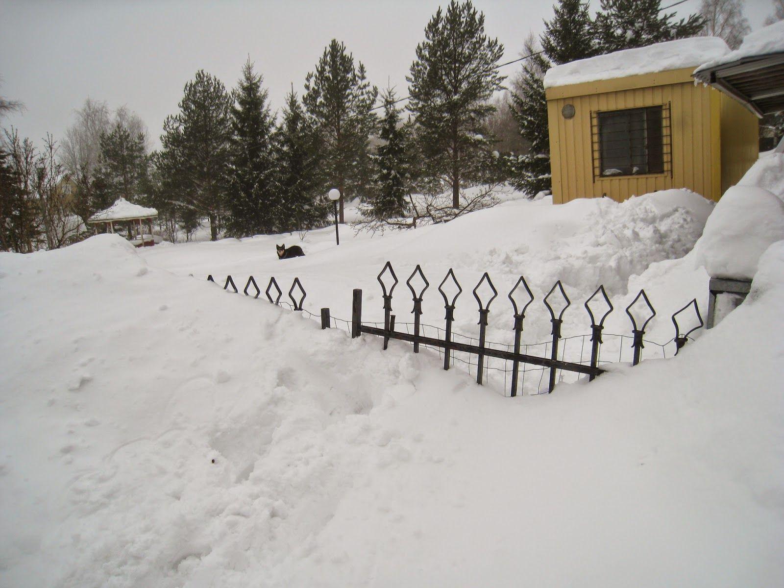 Rautaportin korjaus ja portinpylväiden suoristus - Fixing the iron gate and straightening the posts