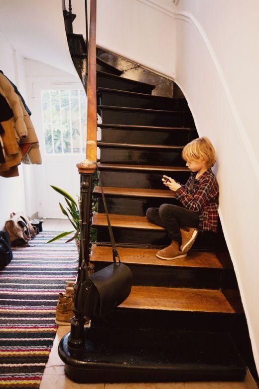 Le monde enchanté de la norvégienne Siv Tone Kverneland Interiors - peinture pour relooker meuble en bois