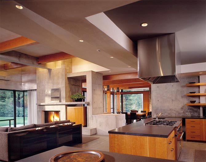 Contemporary Northwest Interiors Modern Interior Design