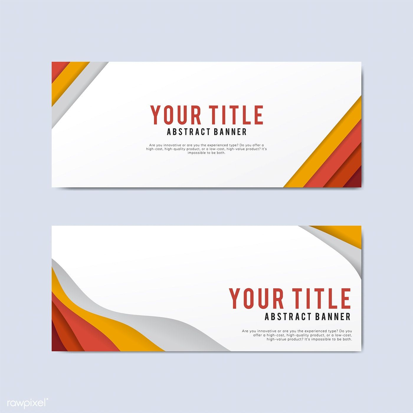 Banner Templates Free