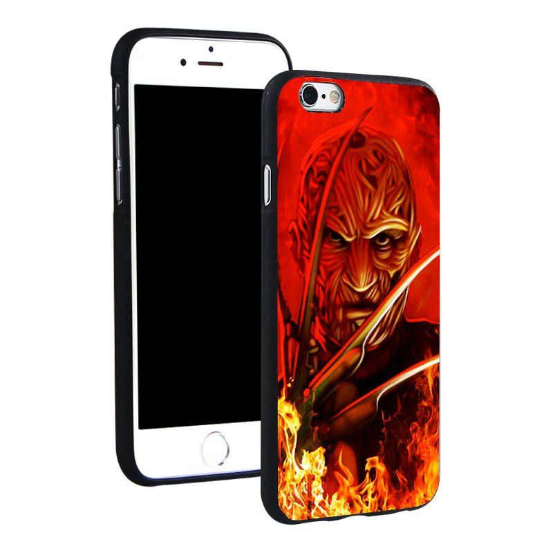 Freddy+Krueger+Horror+film+Silicone+Phone+Case++iPhone+4+4S+5C+5+SE