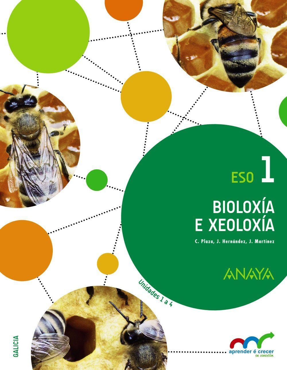 Bioloxía E Xeoloxía Eso 1 C Plaza J Hernández J Martínez Madrid Anaya D L 2015 Geología Biología Libro De Biologia