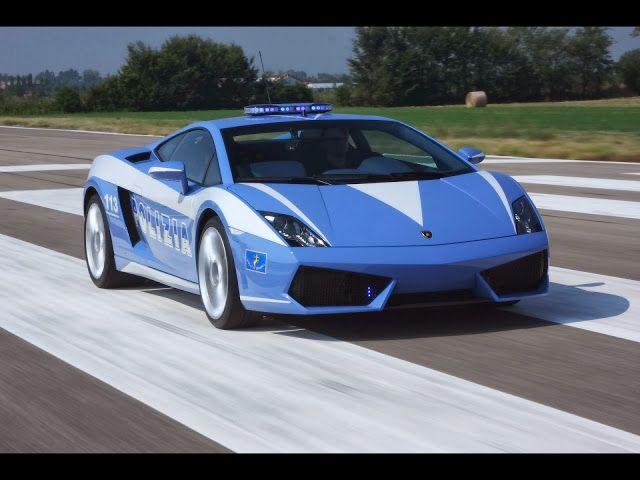 Foto Mobil Keren Lamborghini Galardo Front View Lamborghini Gallardo Italian Police Car Police Cars