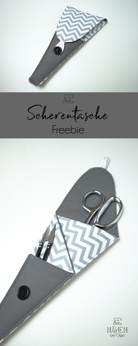 A nice and practical scissors bag A freebie for everyone who needs something   A nice and practical scissors bag A freebie for everyone who wants to sew something quick i...
