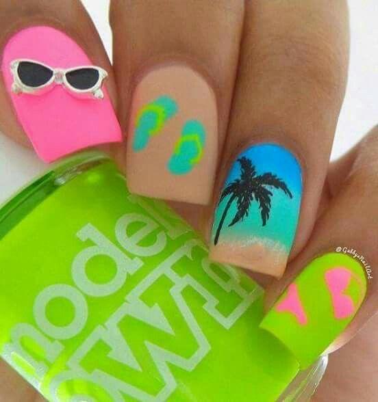 Pin de Gabriela Cruz en uñas | Pinterest | Diseños de uñas y Cancún