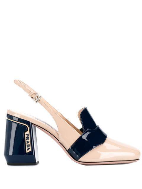 Sapatos Prada de mulher salto feminino , compare preços e