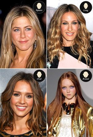 Best Center Parted Hairstyles For Your Face Shape Hair In 2019
