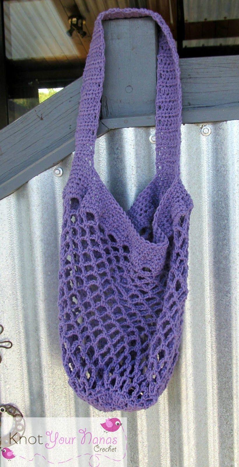 Crochet Market Bag Pattern | Crochet Corner | Pinterest | Crochet ...