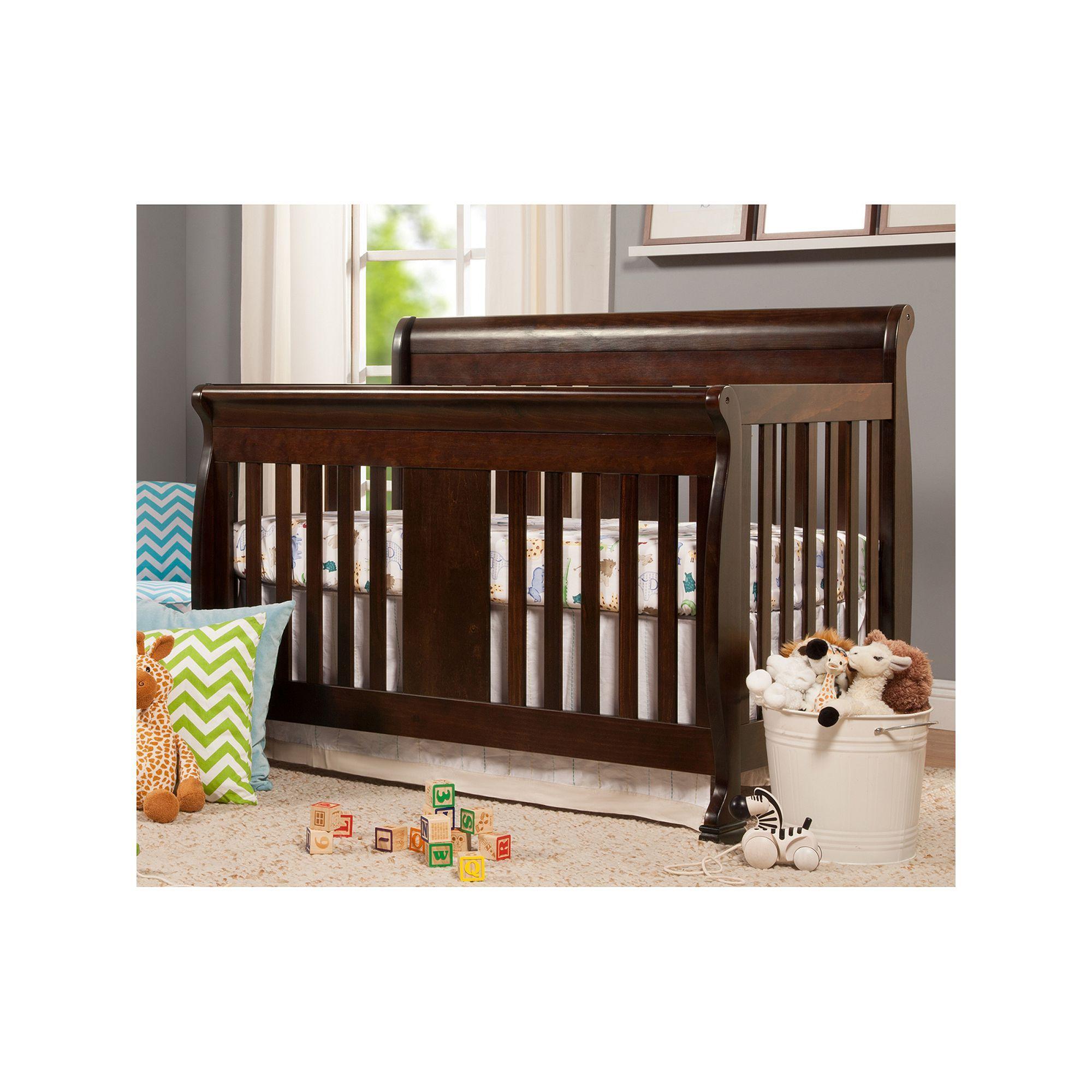 Davinci Porter 4 In 1 Convertible Crib Brown Convertible Crib