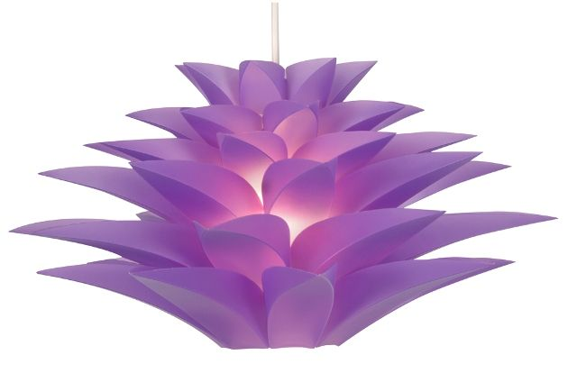 Lampshade in purple