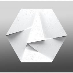 Zaria White Flash 3d Panel ścienny 60x52 Z Kolekcji Zaria Panele