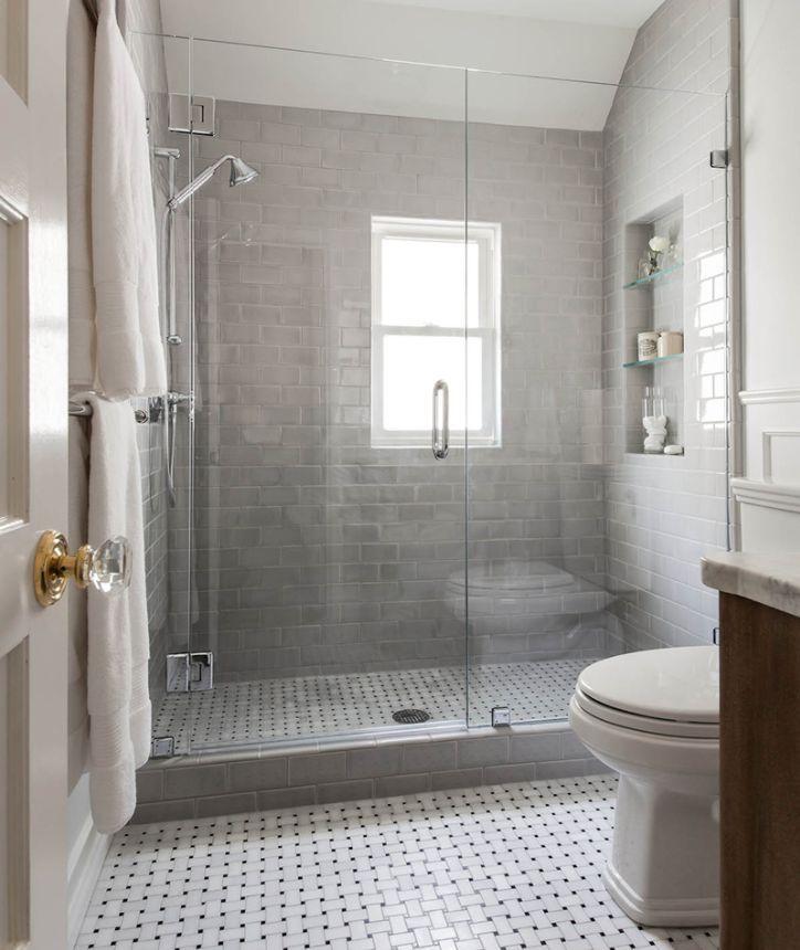 45 Fresh Subway Tiles Application For Your Bathroom
