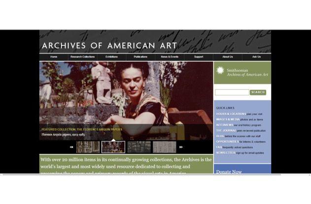Gli Archives of American Arts: 20 milioni di documenti per le fonti dellarte americana