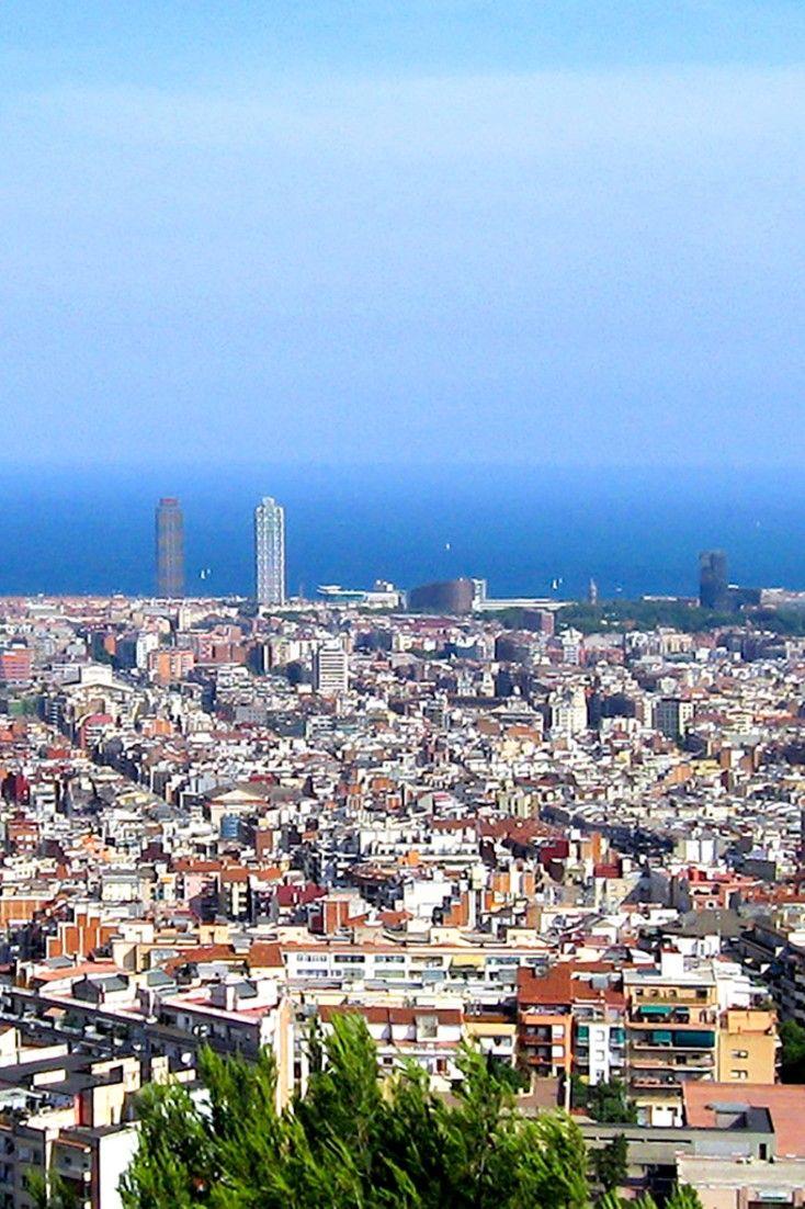 The hotel features striking views of Barcelona. #Jetsetter Pullman Barcelona Skipper