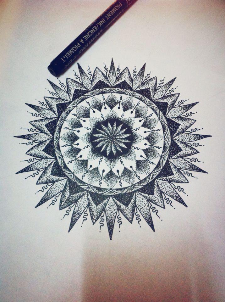 Mandala   Compass tattoo, Zentangle designs, Tattoos