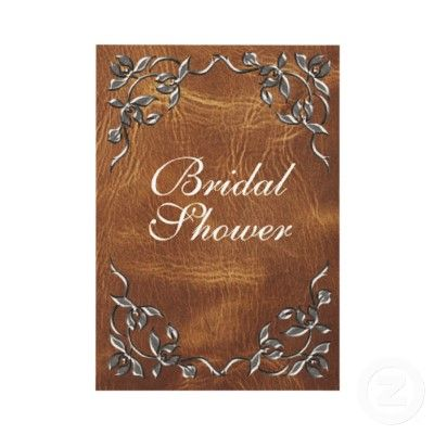 cowgirl bridal shower invitation Shower ideas Pinterest