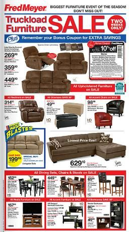 queen bee coupons fred meyer furniture sale great