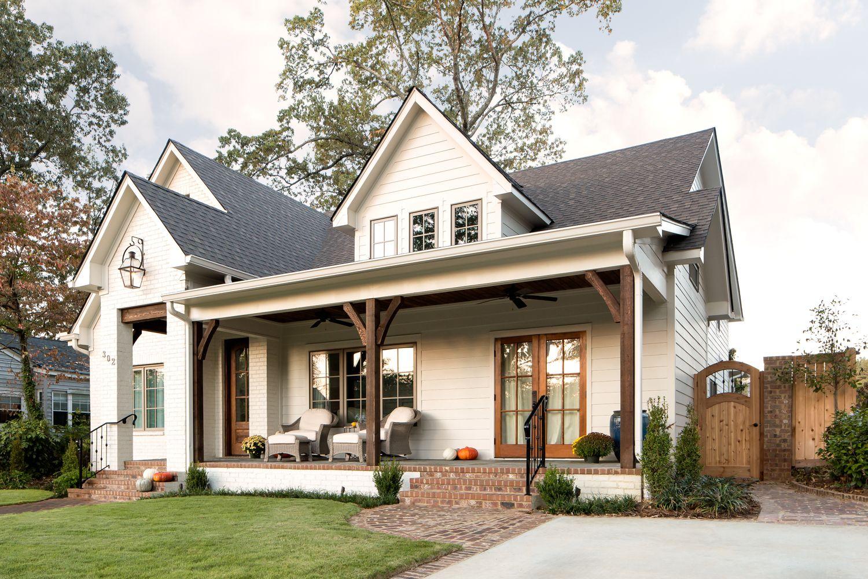 302 Clairmont Exterior Willow Homes 10 Farmhouse Front PorchesModern