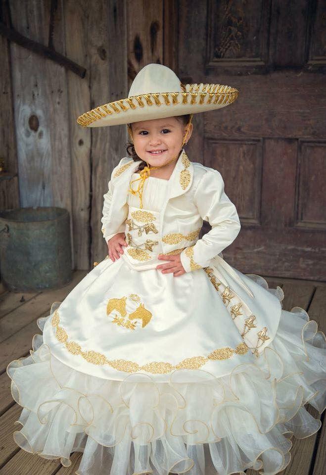 Presentation De 3 Anos En 2019 Vestidos Mexicanos Para