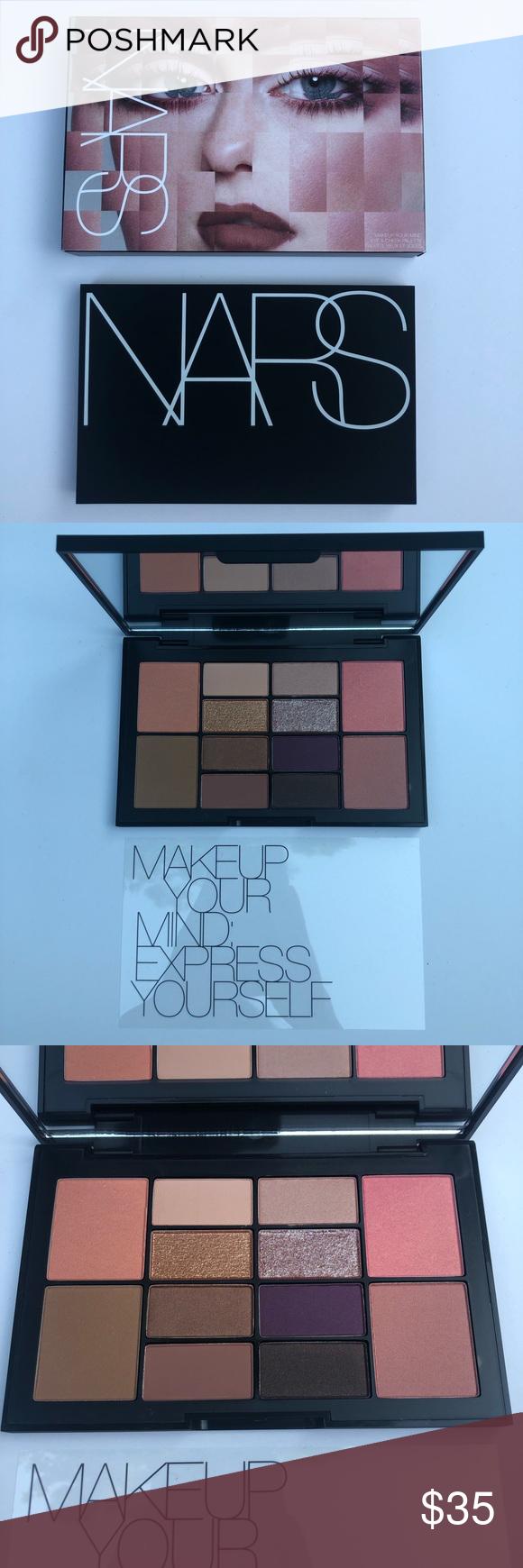Nars Makeup Your Mind Face Pallete NARS Makeup Your Mind