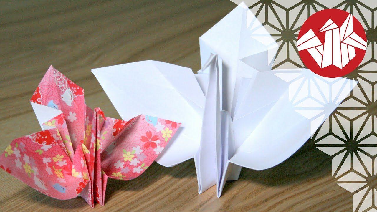 Photo of Wedding Origami Tutorial – Kotobukizuru: Ceremonial Crane [Senbazuru]