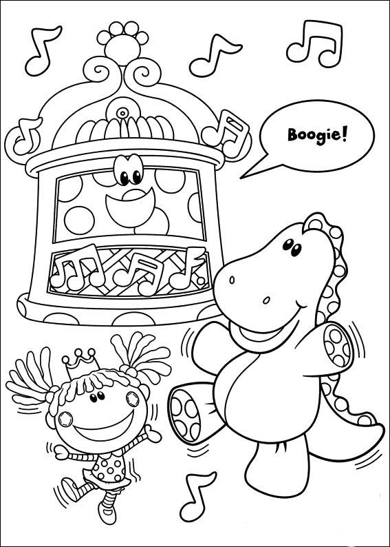 Blue\'s Clues Coloring Pages 16 | Coloring pages for kids | Pinterest