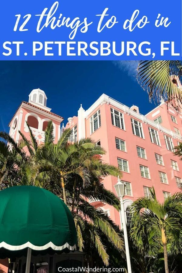 12 Awesome Things To Do In St. Petersburg, Florida -   13 travel destinations Florida trips ideas
