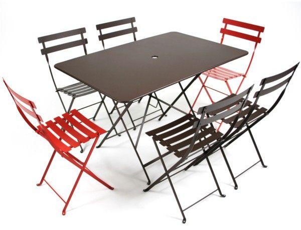 Fermob Bistro Folding Table 117X77 - Fermob Bistro Furniture