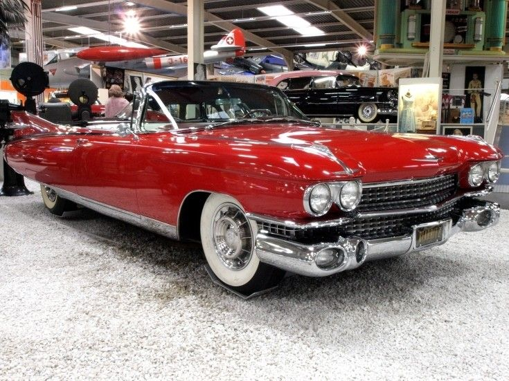 Classic Red Cadillac Cars I Love Pinterest Cadillac Cars