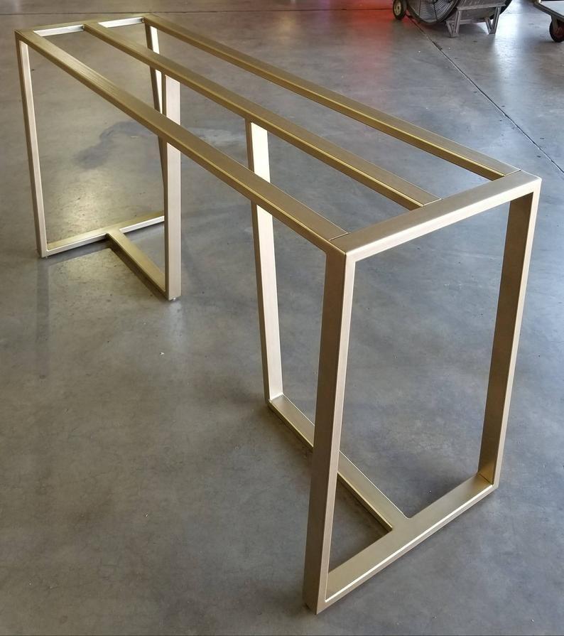 Metal table Base (Tribeca Slant)