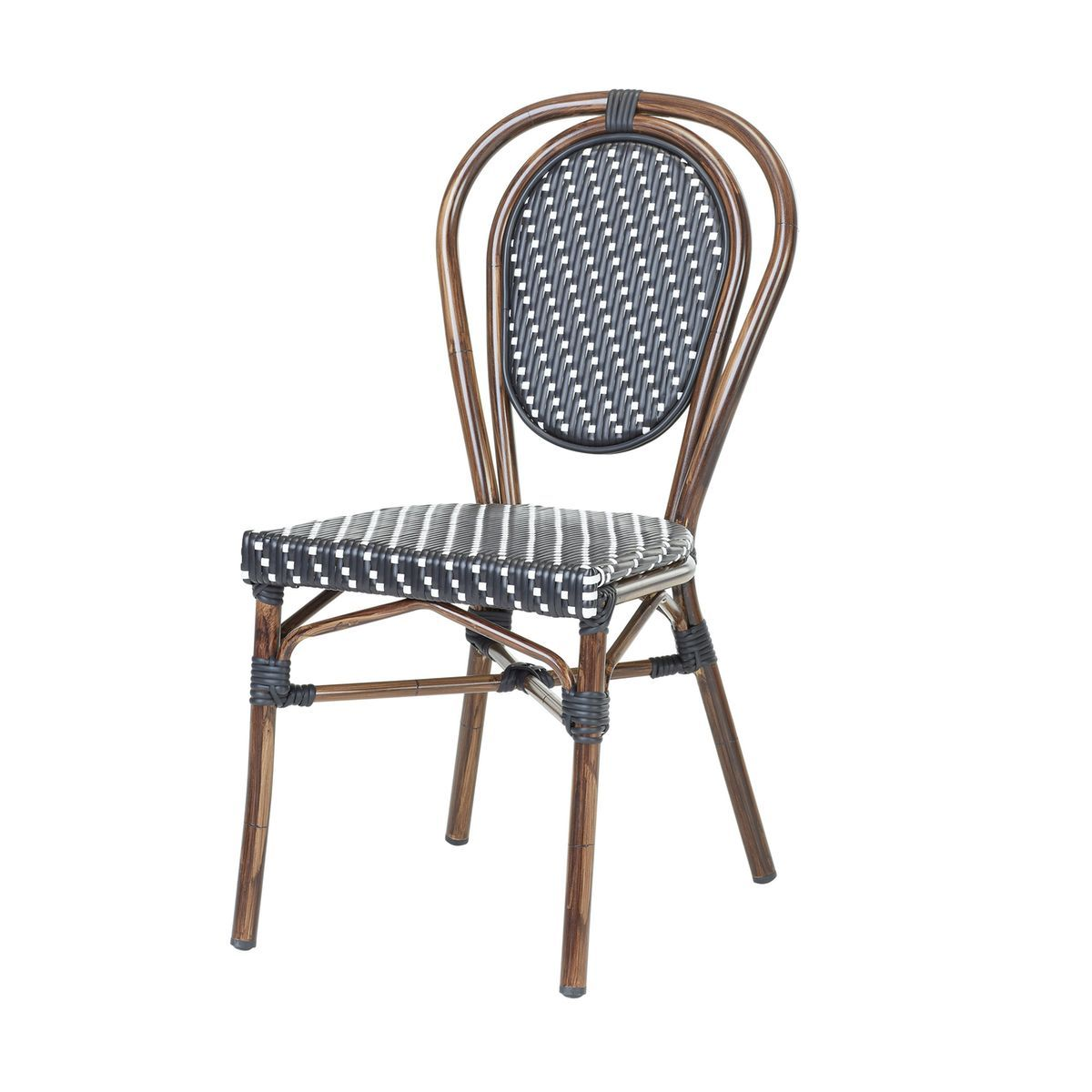 Chaise Bistrot Oliv En Polyrotin Taille Taille Unique Chaise