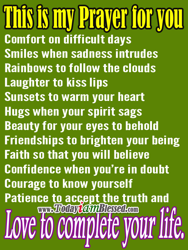 This Is My Prayer For You Favorite Quotes Prayer For You