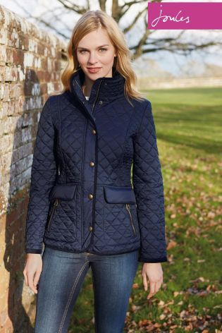 Buy Joules Newdale Marine Navy Quilted Jacket From The Next Uk
