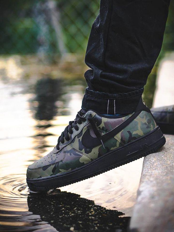 air force 1 reflective camo on feet nz