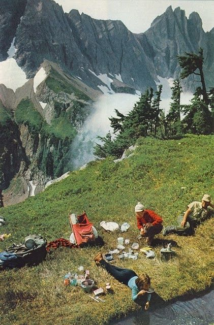 BY THE MOUNTAINSIDE - Click image to find more Outdoors Pinterest pins