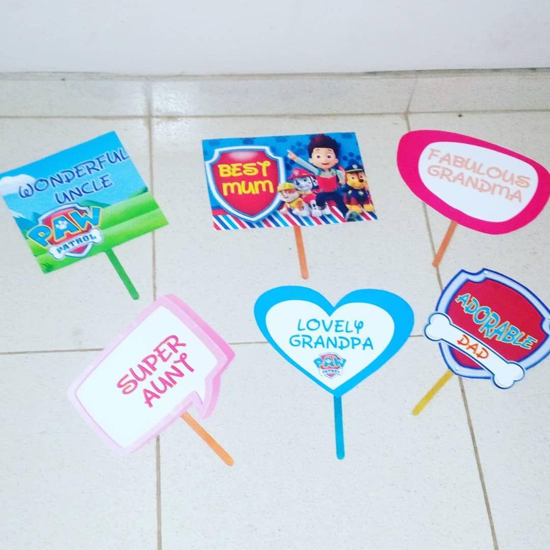 40PCS Unicorn Photo Booth Props on Sticks children/'s Birthday Party Gift Selfie