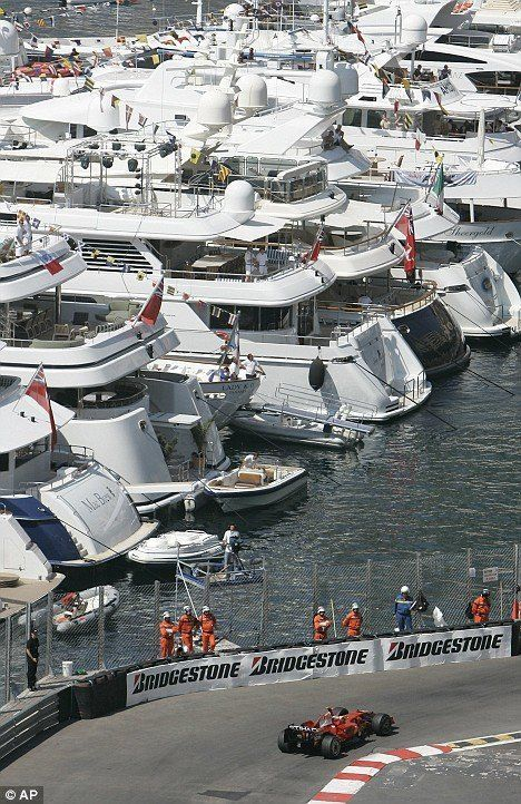 06d8b068 Fast cars and bikinis... sunbathing in the fast lane at the Monaco Grand  Prix | Superyachts | Monaco grand prix, Grand prix, Monaco