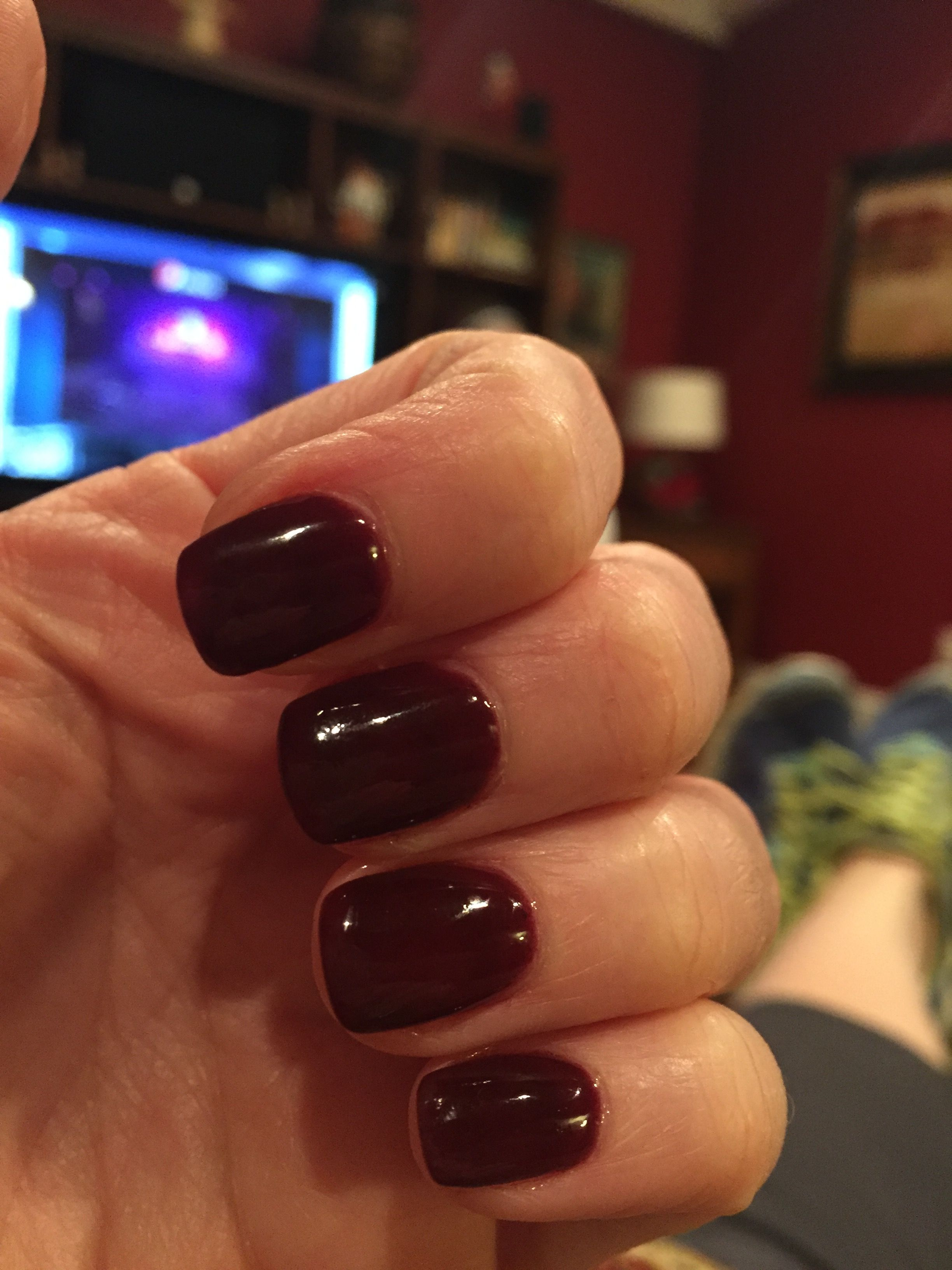 SNS #100. Dark dark berry. | Nails | Pinterest | Berry, Dark and Sns ...